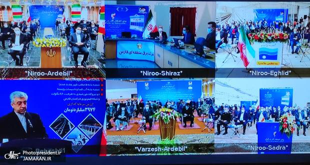 افتتاح طرح های ملی وزارتخانه های نیرو و ورزش و جوانان با دستور رییس جمهور