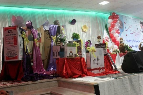 اهدای ۱۴۰ سری جهیزیه به نوعروسان در تربت جام