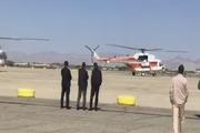 آغاز بازدید هوایی رئیس جمهور از مناطق سیل زده جنوب سیستان و بلوچستان