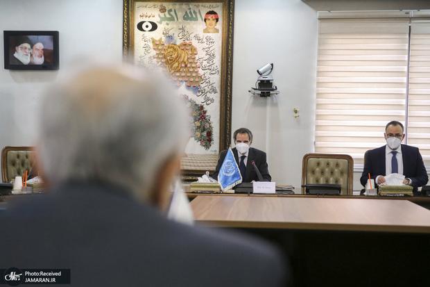 دیدار مدیرکل آژانس با رئیس سازمان انرژی اتمی ایران
