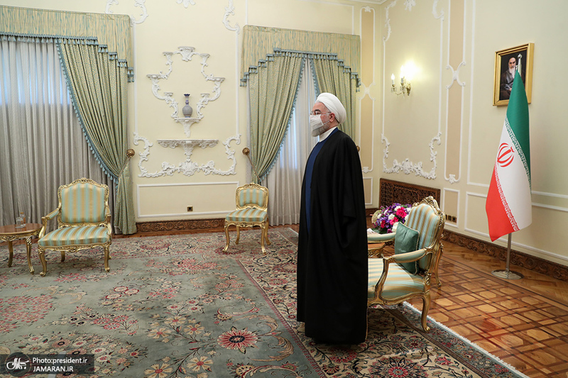 دیدار وزیر امور خارجه روسیه با روحانی