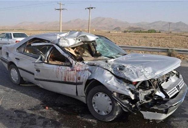 حوادث رانندگی در چهارمحال وبختیاری ۲ کشته داشت