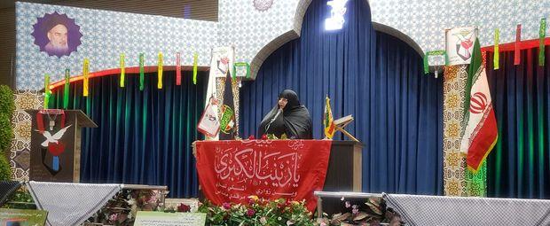انقلاب اسلامی الگوی جدیدی از زن را به جهان معرفی کرد