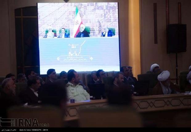 افتتاح 623 پروژه فناوری اطلاعات با حضور رییس جمهوری در کرمانشاه