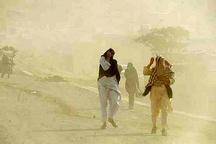 سرعت وزش باد در سیستان و بلوچستان به 90 کیلومتر بر ساعت رسید