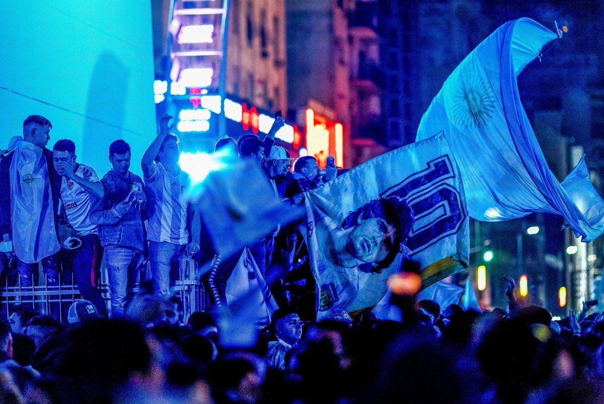 جشن مردم آرژانتین پس از قهرمانی در کوپا آمریکا در خیابان ها +تصاویر