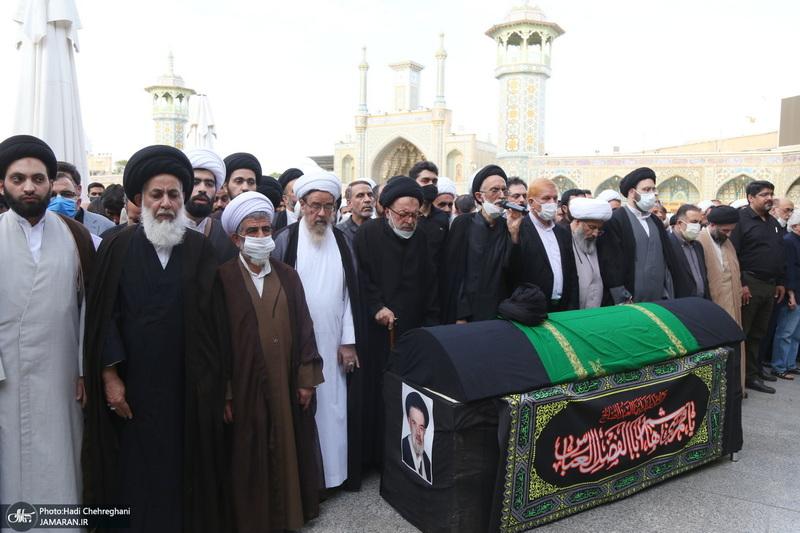 مراسم تشییع حجت الاسلام و المسلمین سید محمدجواد مرعشی(ره)