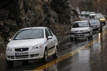 رانندگان به خاطر لغزندگی برخی محورهای اصفهان با احتیاط برانند