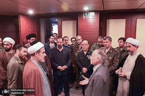 تجدید میثاق مدیران ارشد سازمان حفظ آثار و نشر ارزشهای دفاع مقدس آجا با آرمان های حضرت امام(س)