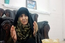مادر شهید رمضانعلی چهرقانی: برای فرزندم گریه نمیکنم