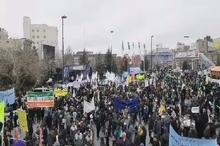 آغاز مراسم راهپیمایی ۲۲ بهمن ماه در مشهد با پخش صلوات خاصه امام رضا (ع)