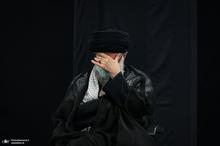 مراسم عزاداری شب عاشورای حسینی (ع) در حسینیه امام خمینی