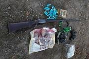 شکارچی غیرمجاز در خلخال دستگیر شد