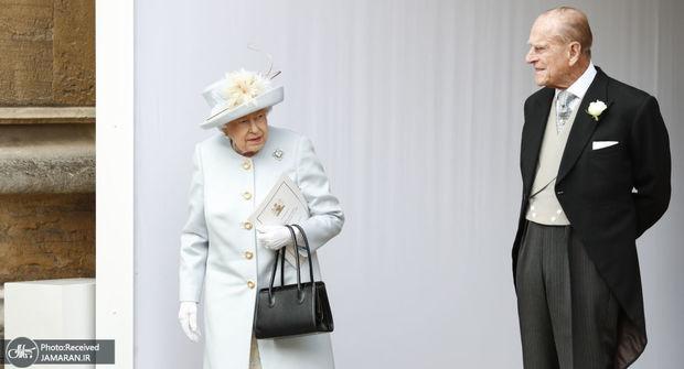 عکس/اولین حضور ملکه انگلیس در انظار عمومی پس از رسوایی اخیر