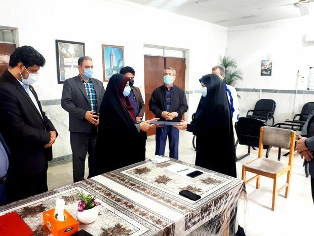 معارفه دومین شهردار زن گلستان در نوکنده