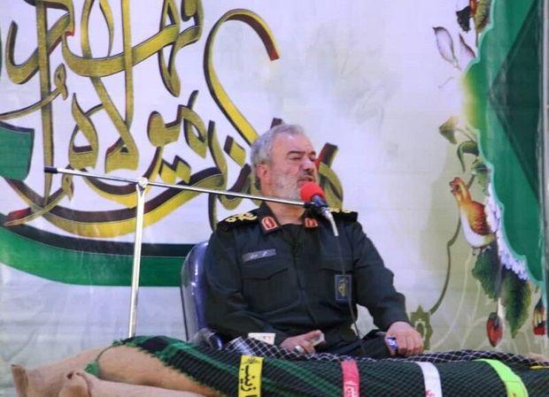 جانشین فرمانده کل سپاه : بانوان ایرانی شیطنت دشمنان را خنثی کنند