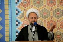 امام جمعه نوشین شهر: نظام اسلامی به دنبال ظلم ستیزی است