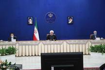 روحانی: هیچکس تصور نمیکرد ایران با وجود تحریمها بتواند به این شکل عمل کند