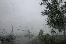 فعالیت سامانه بارشی در قزوین تا فردا دوشنبه ادامه دارد