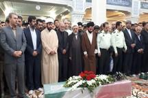 پیکر شهید مدافع امنیت در اردبیل تشییع شد
