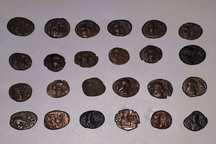 43 قطعه سکه تاریخی در خوزستان کشف و ضبط شد