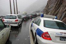 رانندگان بدون زنجیر چرخ در محورهای کوهستانی ایلام تردد نکنند