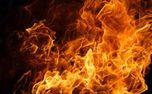 آتش سوزی در انبار کالای میدان امام خمینی + فیلم