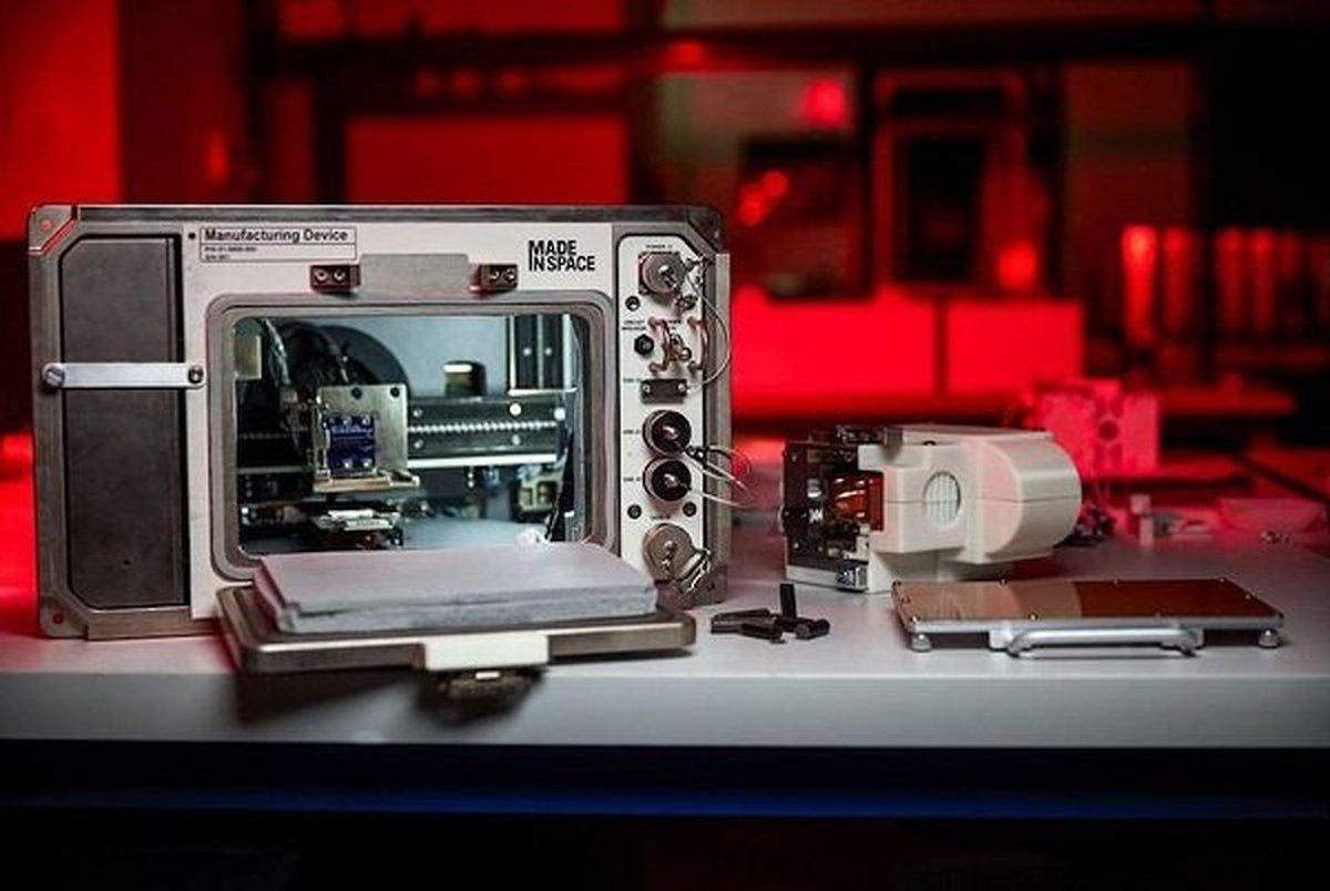 ارسال چاپگر سه بعدی به فضا برای ساخت و ساز