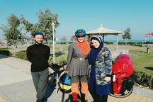 زوج دوچرخه سوار آلمانی: میهمان نوازی ایرانی ها بی نظیر است