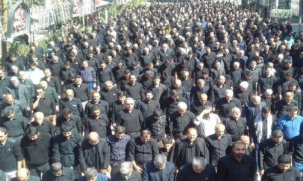 نماز ظهر عاشورا در گرگان اقامه شد