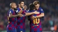 رکوردزنی مسی در شب پیروزی بارسلونا