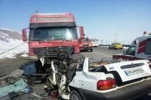 کاهش فوتیها و افزایش مصدومان حوادث جادهای در گلستان
