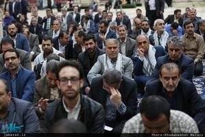 تجدید میثاق وزیر معاونان و مدیران وزارت آموزش و پرورش با آرمانهای امام راحل