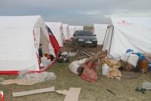 2 اردوگاه در بخش شاوور شوش ایجاد شد