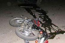 تصادف موتورسیکلت در درگز باز هم کشته داد