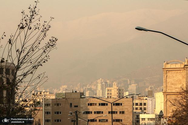 بازگشت هوای آلوده تهران
