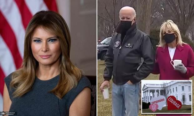 همسر ترامپ (بانوی اول سابق) این روزها کجاست؟+ تصاویر