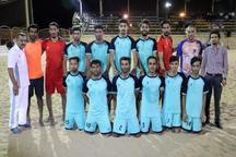 حریفان تیم فوتبال ساحلی بندرعباس مشخص شدند