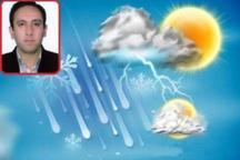 مناطق جنوبی و شرقی یزد فردا منتظر باران باشند  افزایش دما در هفته آینده