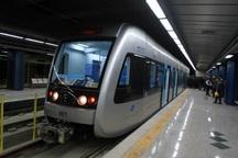 حرکت خط مترو تهران - کرج روز جمعه هر 40 دقیقه انجام می شود