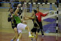 تیم هندبال ذوب آهن اصفهان تیم سربداران سبزوار را شکست داد