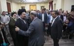 دیدار معاون امور تعاون وزارت کار و جمعی از کارکنان این معاونت با سید حسن خمینی