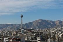 هوای پایتخت باشاخص 85 سالم است