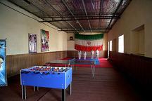 خانه ورزش روستایی در میرجاوه افتتاح شد