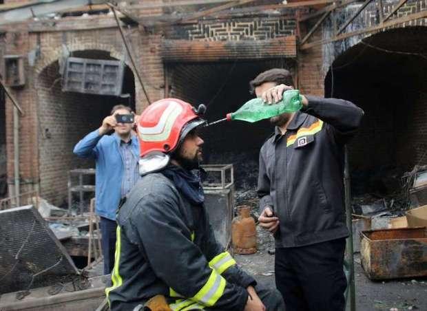 آتش نشانان، قهرمانان گمنام آتش سوزی بازار تبریز