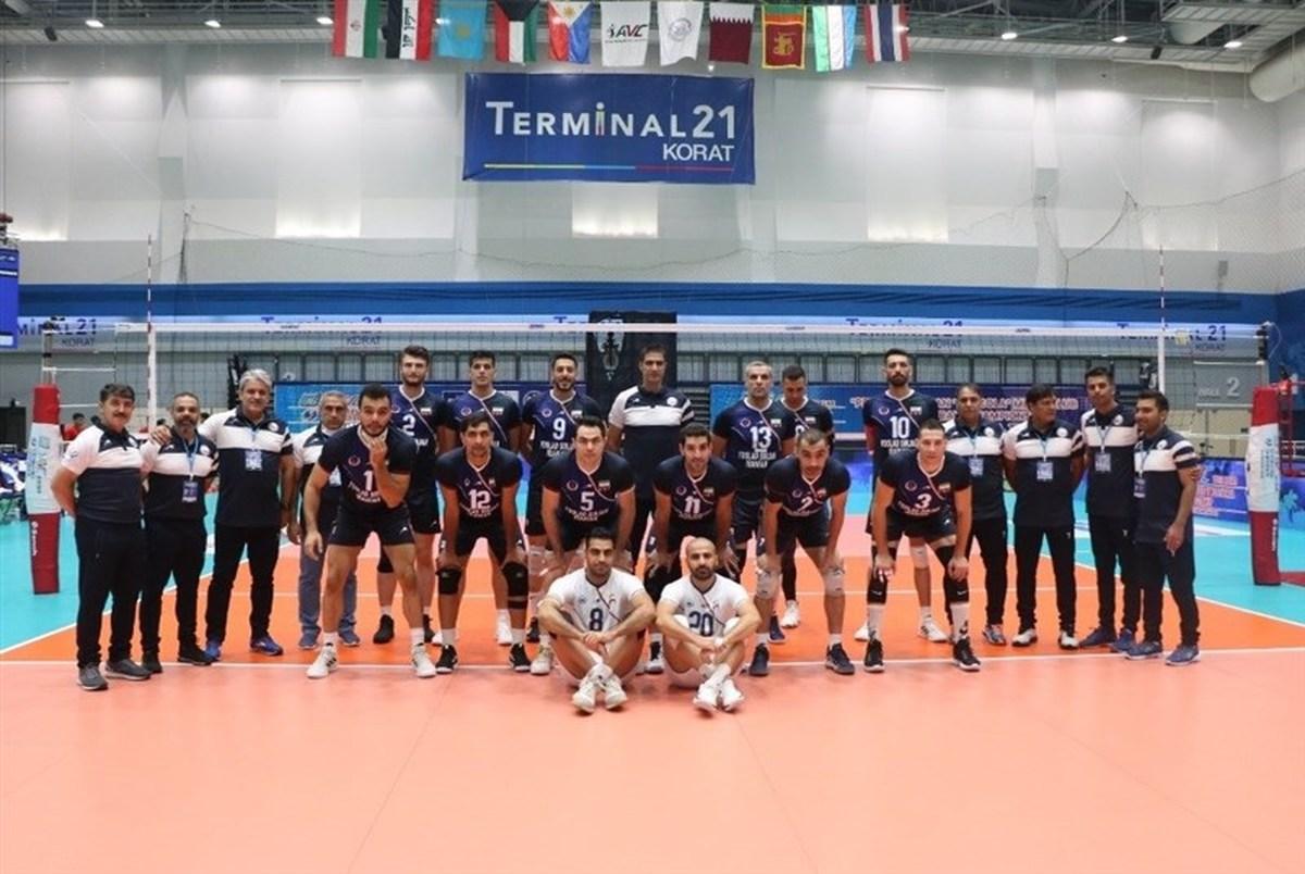 پیروزی بدون دردسر فولاد در  والیبال باشگاههای آسیا
