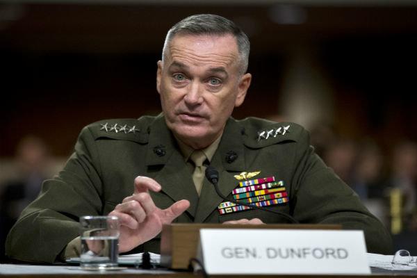 رئیس ستاد مشترک ارتش آمریکا: جنگ با کره شمالی وحشتناک است