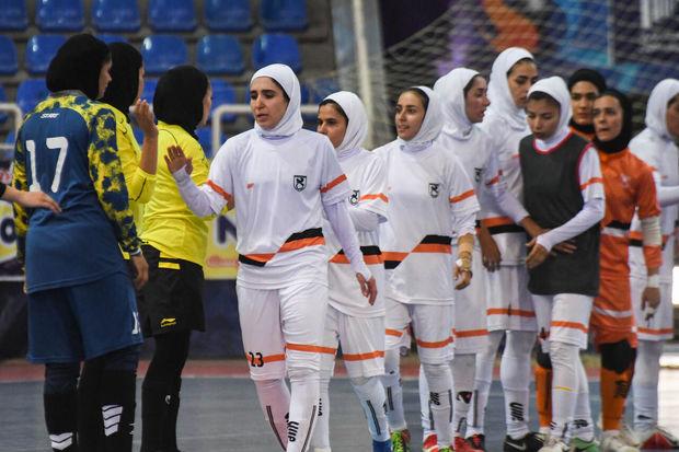روز بد بانوان فوتسالیست استان کرمان در لیگ برتر کشور