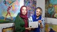 درخشش هنرمندان ایرانی در سومین نمایشگاه بین المللی رنگ صلح