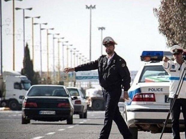 جریمه ۹۰ دستگاه خودرو با پلاک غیر بومی در پلیس راه لرستان